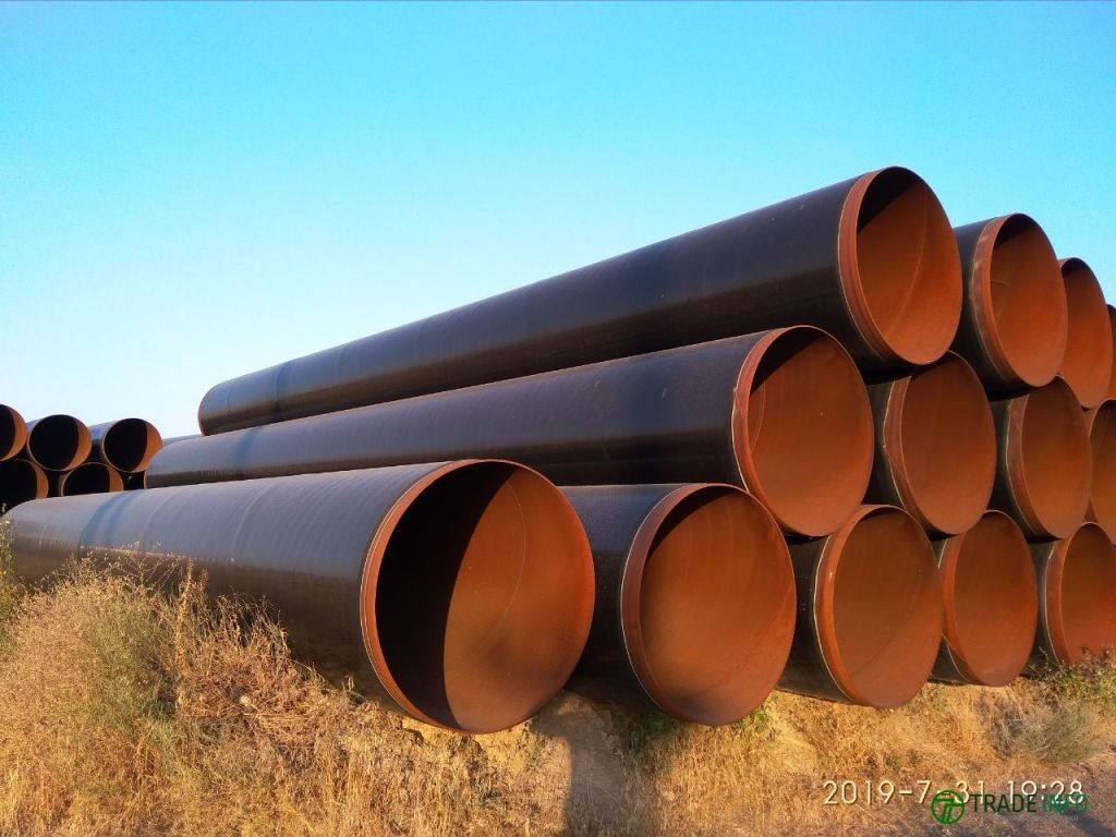 Продам стальные спиралешовные трубы