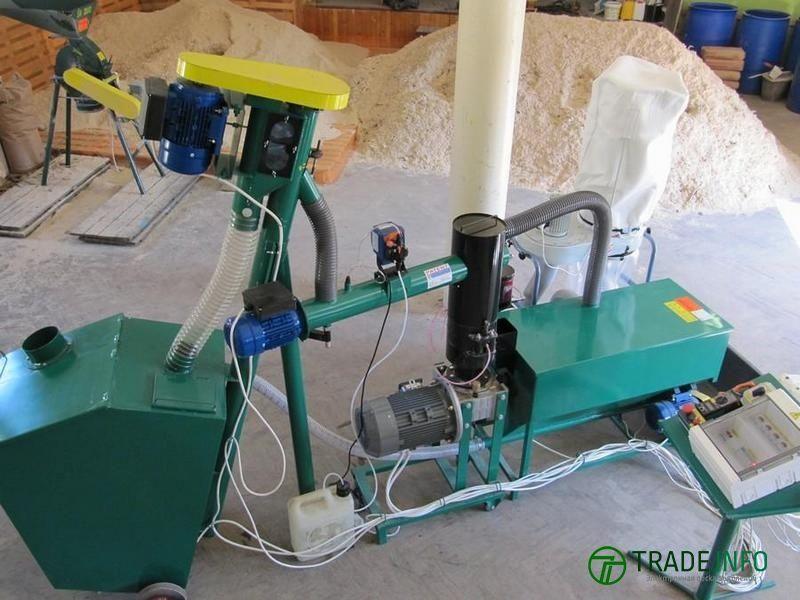 Линии гранулирования  древесных отходов. MGB 100 / MGL 200 /400 /600 /800 /1000